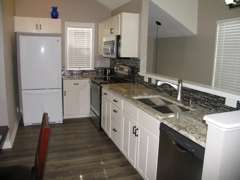 Full size remodeled kitchen