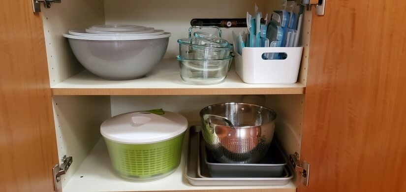 Everythin you need to prepare and store meals