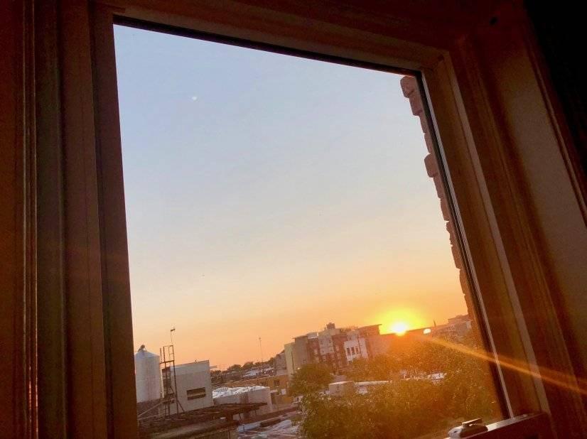 Sunrise Over Denver