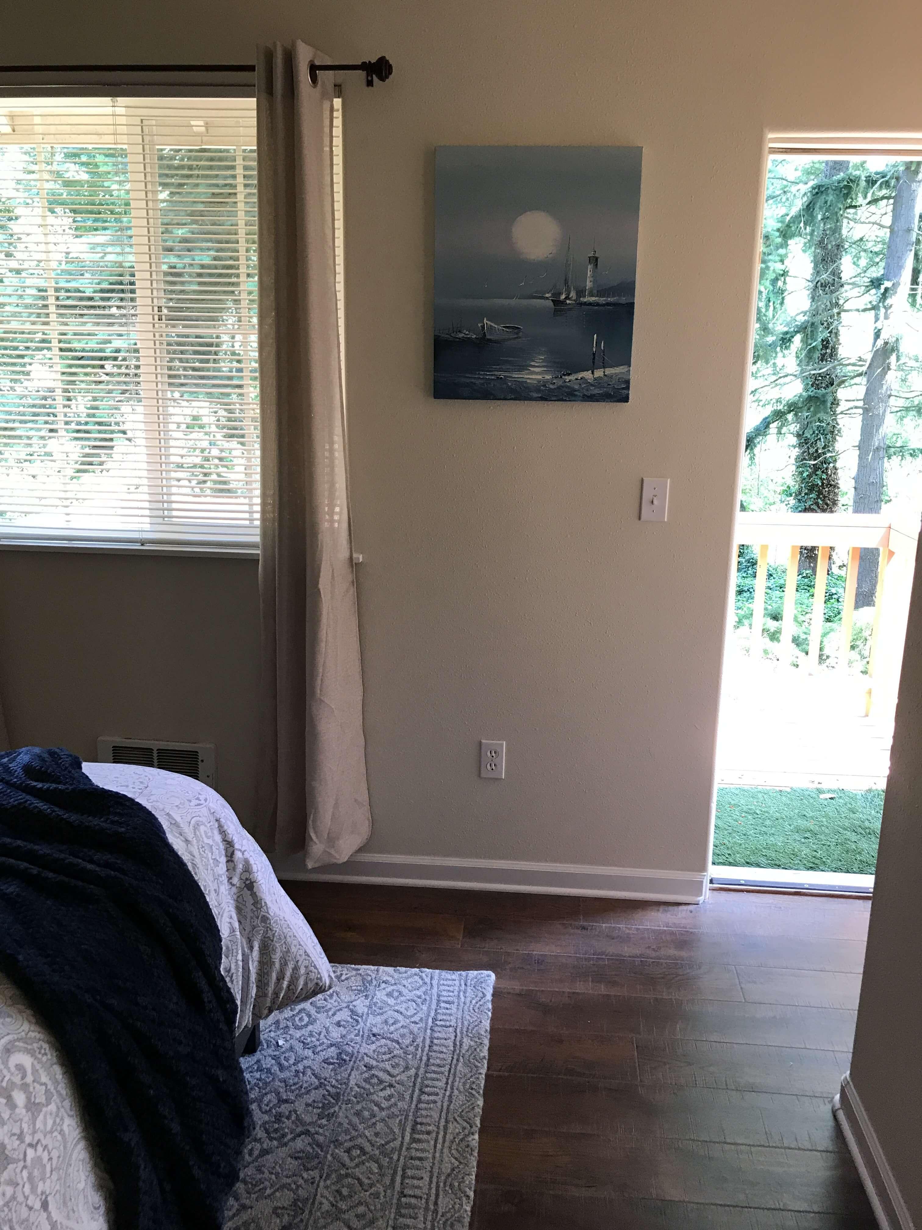 Deck off Master Bedroom