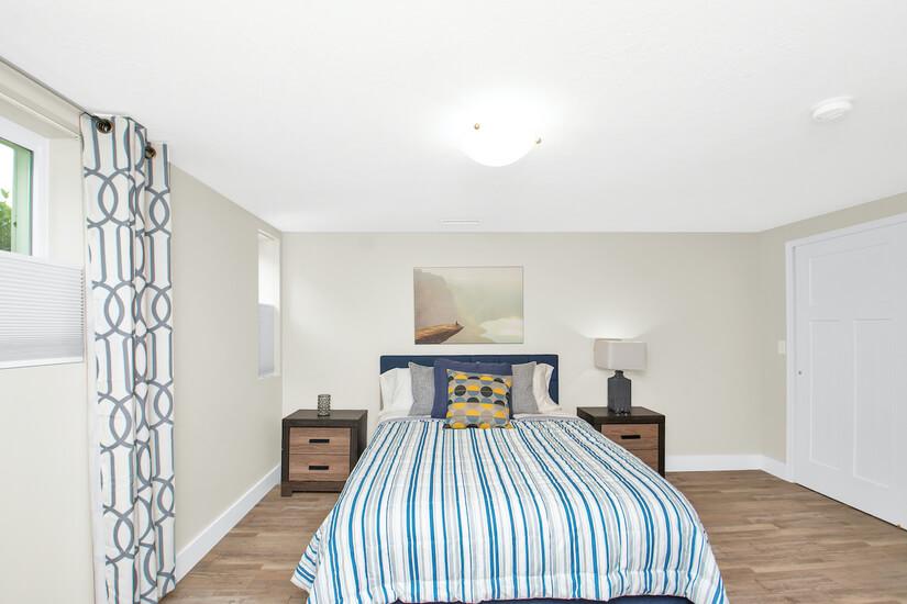 Bedroom #4 Striped Room