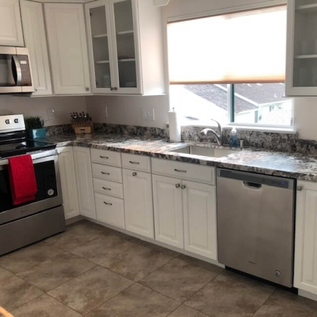 Kitchens with allthe amenities
