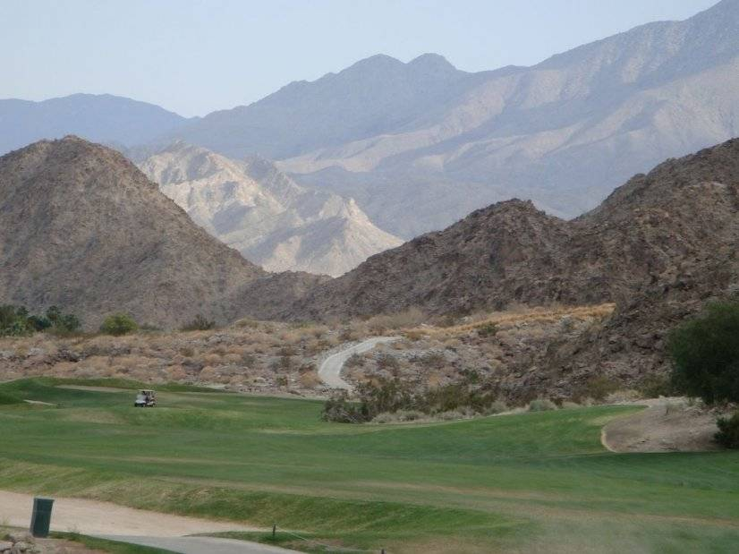 Area Surrounded by Beautiful Mountains and Golf Courses