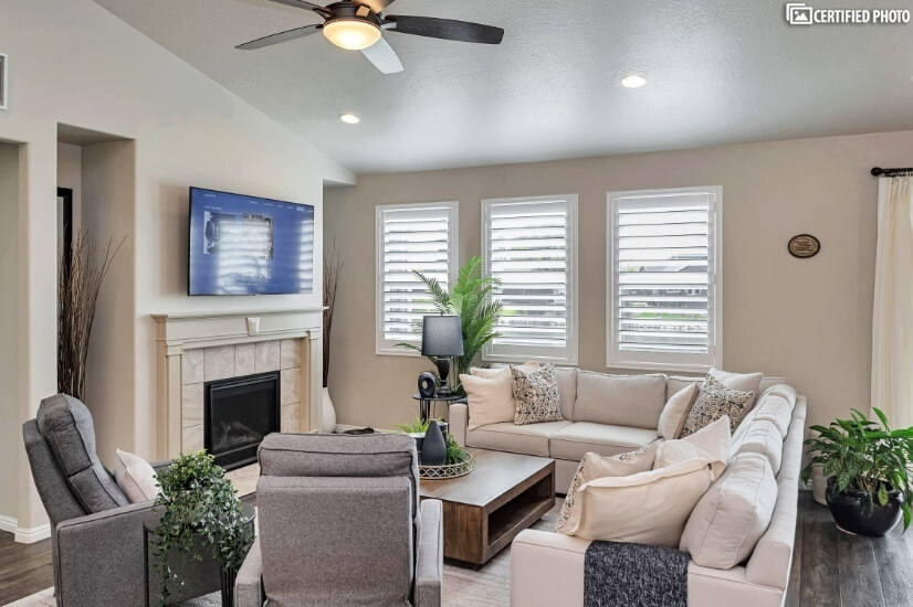 Elegant Main Floor Living Room
