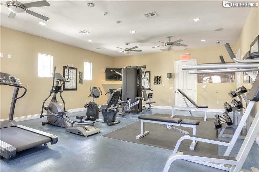Exercise Room Club House