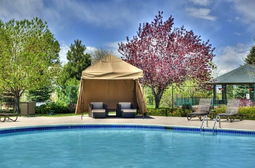 Cabanas at the Pool!