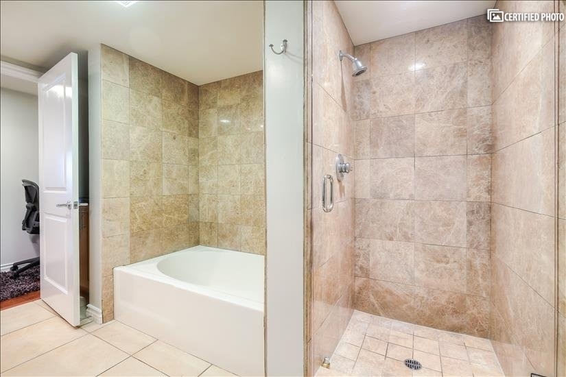 Master Bedroom Bath and Shower