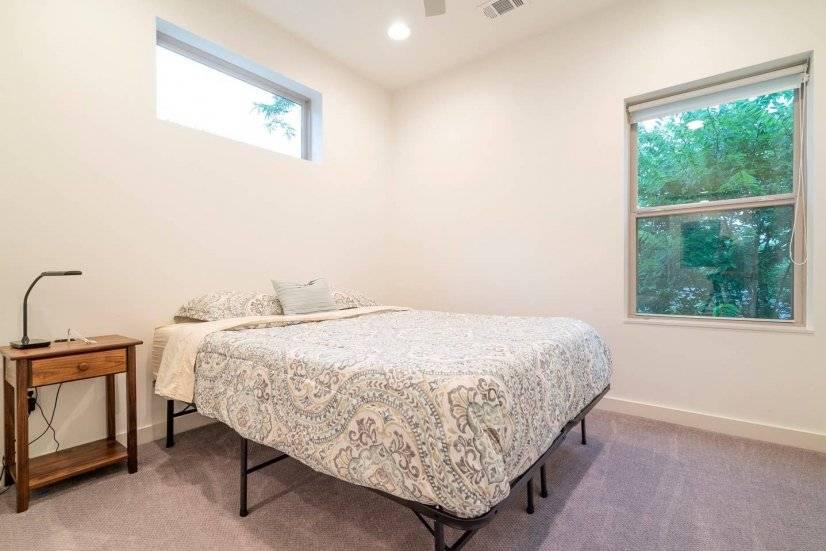 Upstairs bedroom from door