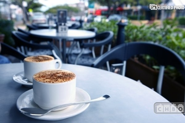 Enjoy the historic cafes of North Beach.