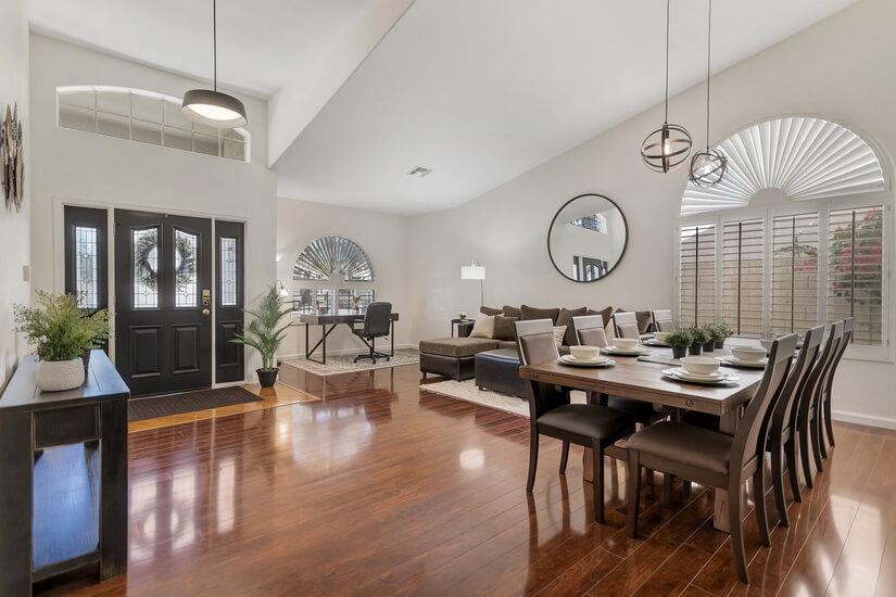 New Furniture in this Bright, Open Floorplan