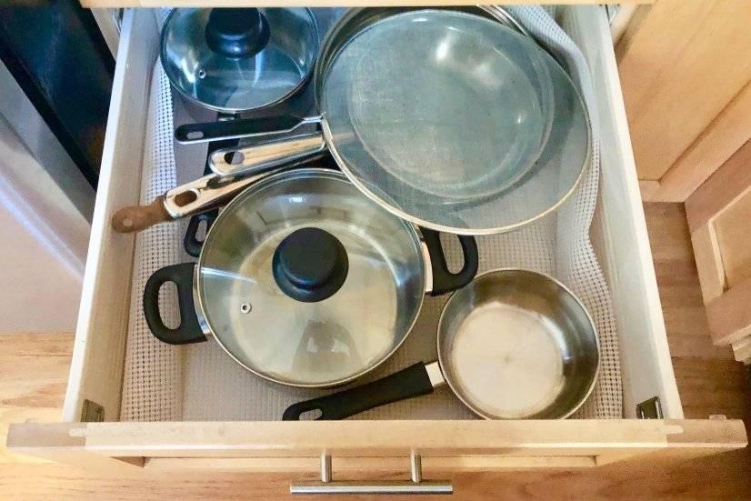 Stocked Kitchen--Pots