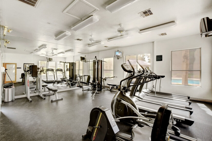 Other View of Fitness Center.