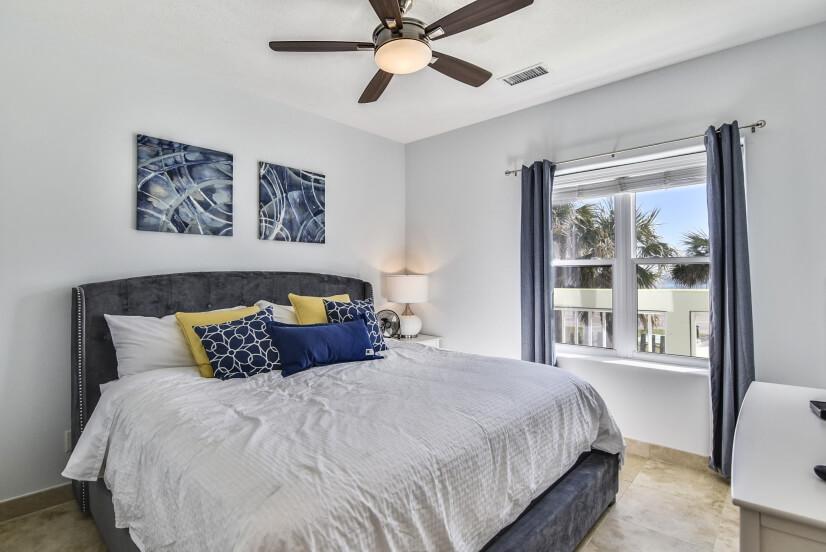 Master Bedroom at Ocean Grove