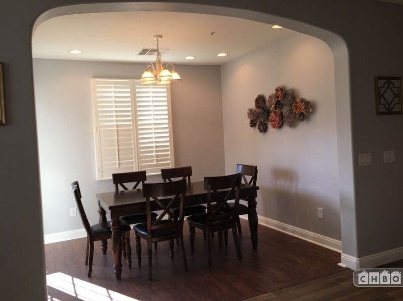 Large Separate Dining Area