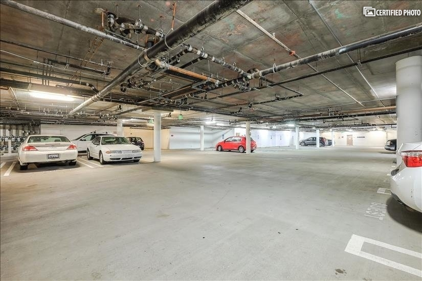 Guest Parking and Two Parking Spots Tandem in Lower Garage