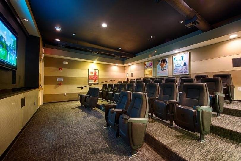 movie theater in lobby
