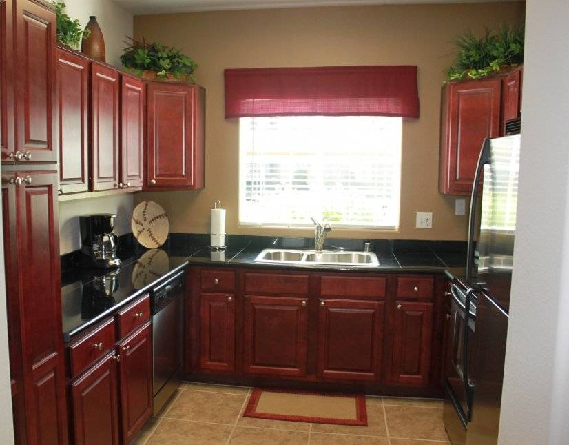 Spacious and bright kitchen with granite.