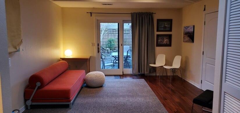 Bonus room, Exercise, office, sofa bed. TRX