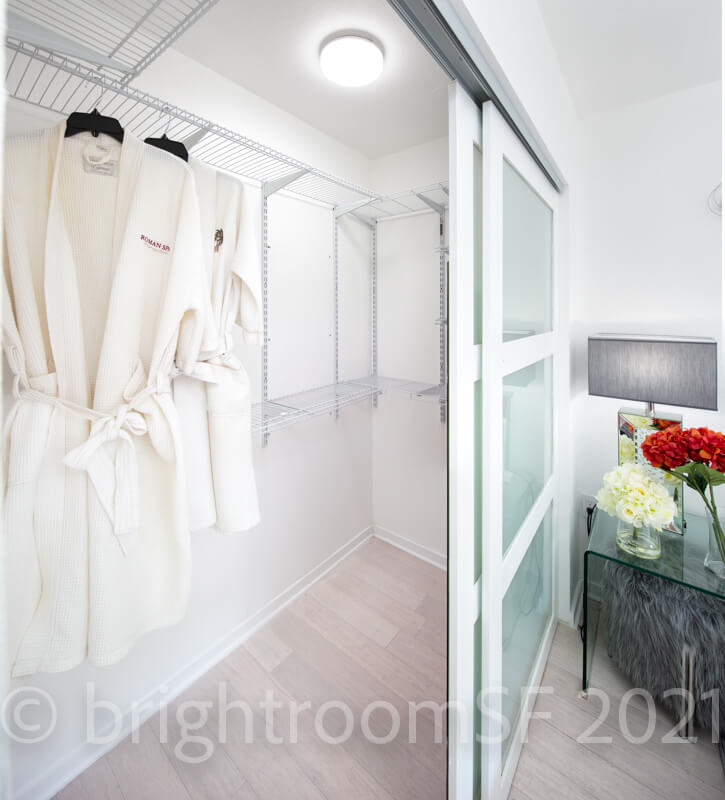 Master Closet #1 with robes
