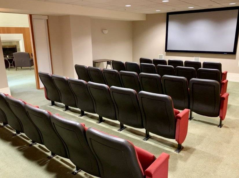 37-seat theatre for movie night