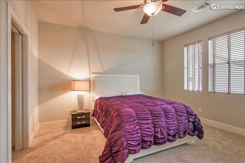 Great guest bedroom with view of the community!