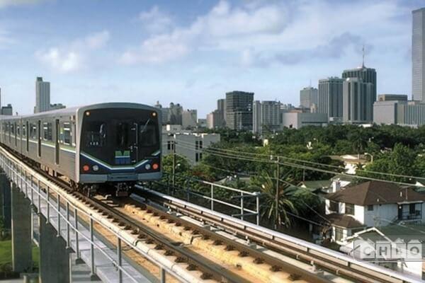 Metro Rail nearby