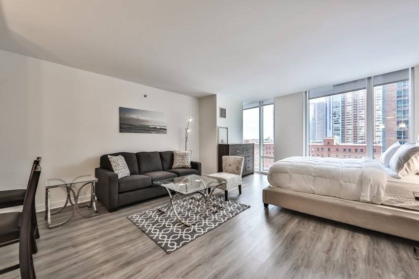 image 6 furnished Studio bedroom Apartment for rent in Near North, Downtown