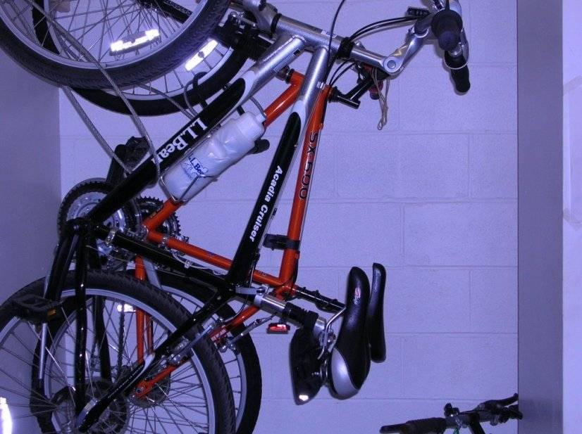 Bike storage room