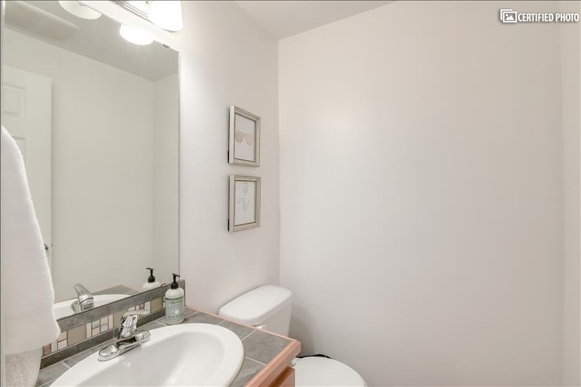 Powder Room bathroom (3rd toilet)