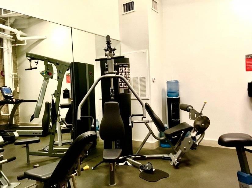 1st Floor Gym (Free)