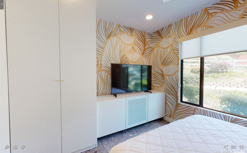 Tierrasanta Furnished Home - Bedroom w/ Smart TV