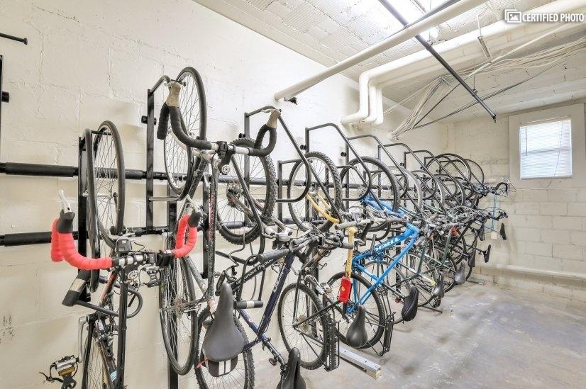 bike room!