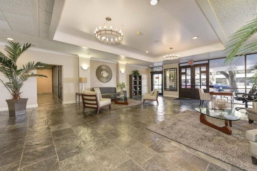 Welcoming Building Lobby