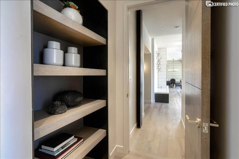 Custom metal and wood master niche!