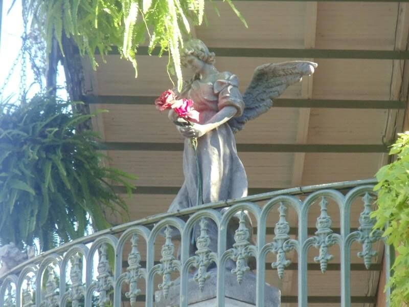French Quarter Balcony Angel