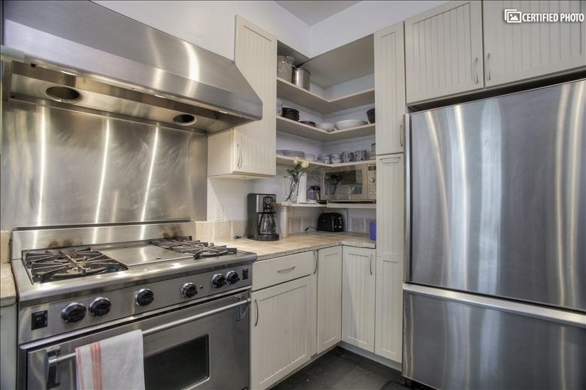 Kitchen with all top rated appliances