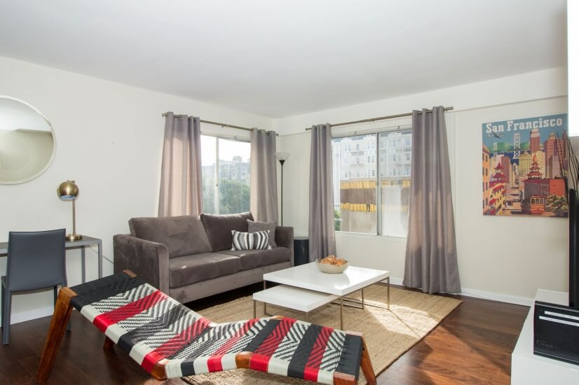 Furnished Two Bedrooms - 1355 Lombard St