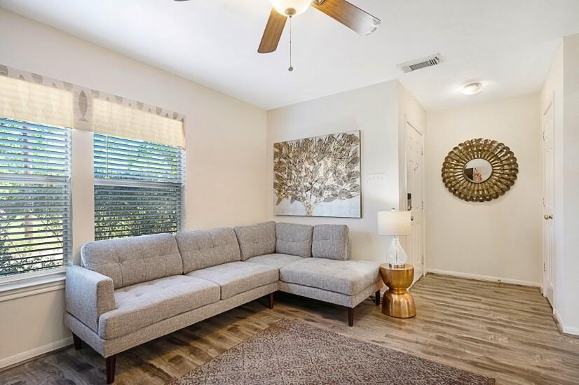 Living Room & Front Entrance