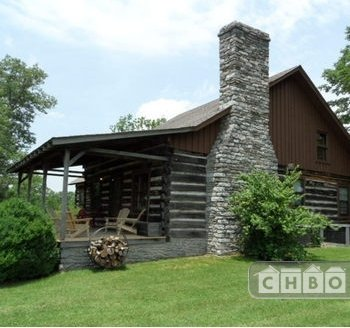 Antique Log County Cabin