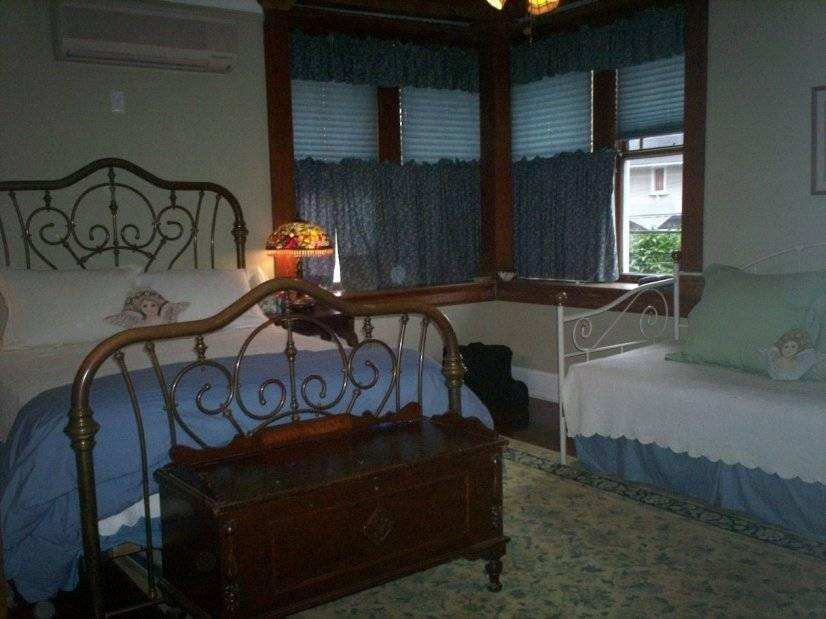 Master Bedroom has wonderful light