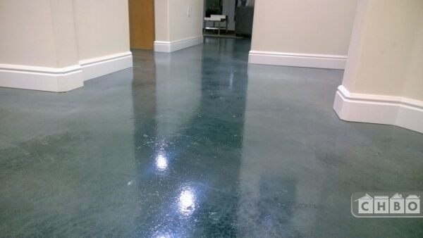 Modern Stained Concrete Floors