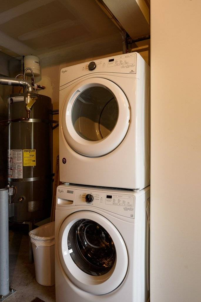 Washer and Dryer only for tenant