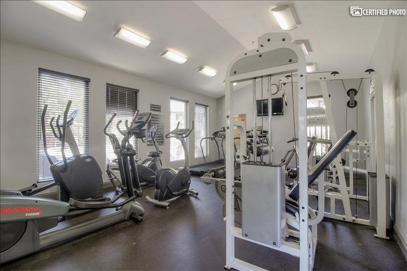 Community Gym on Property