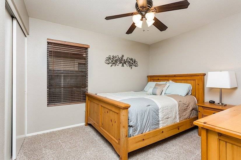 Enjoy the nice oak bedroom set
