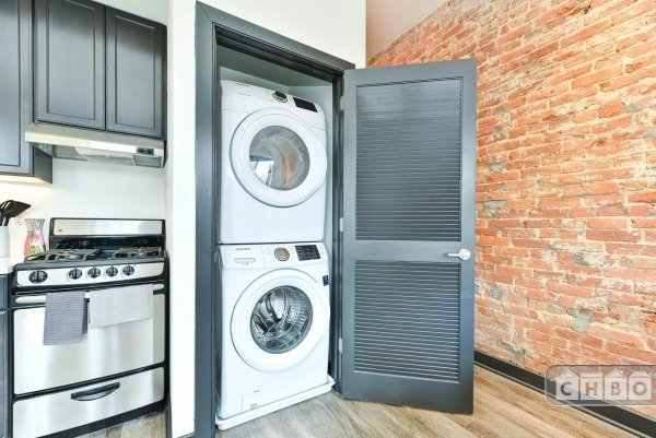 Your own washer / dryer in unit