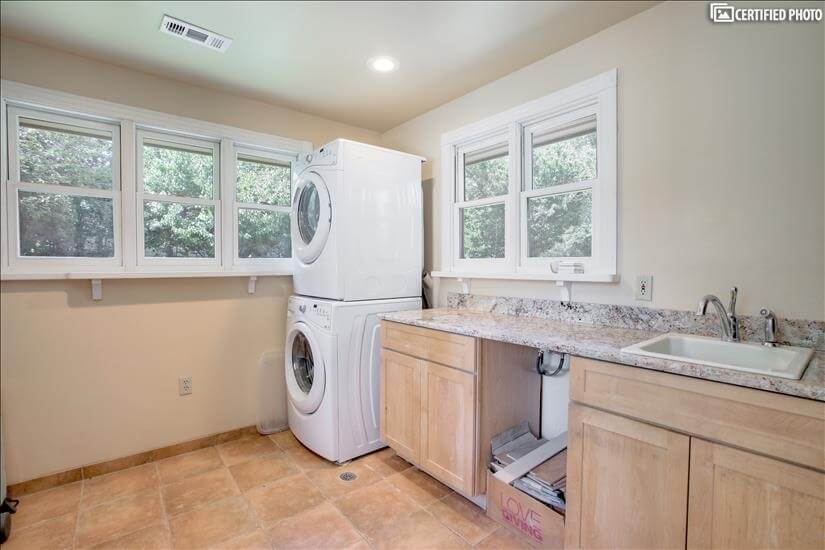 Entrance Mudroom with Shared Laundry