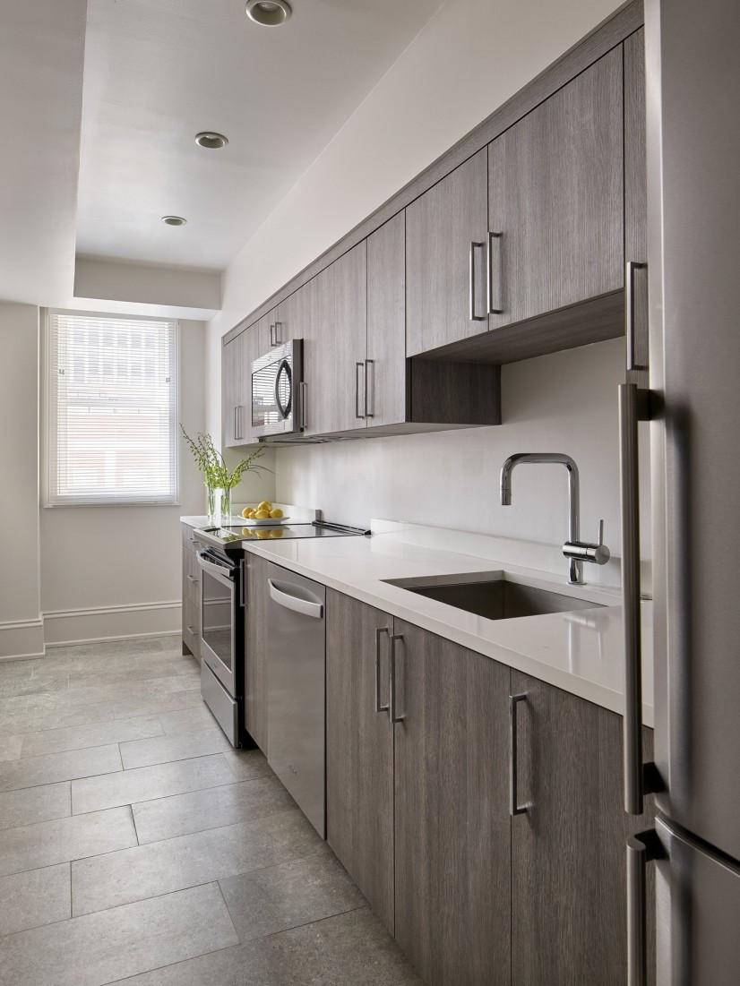 Platinum One-bedroom Kitchen