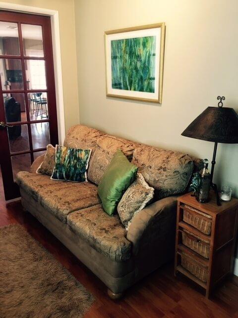 3rd bedroom/den sofa pullout bed