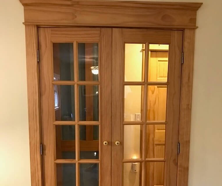 hall french doors