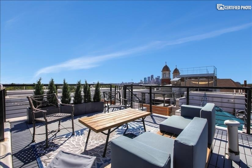 Private Rooftop Deck with Amazing 360 Degree Views